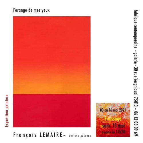 03 au 16 mai 2021 F Lemaire