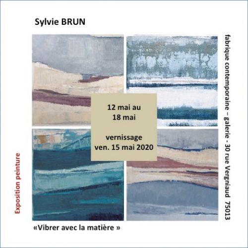 Invitation sylvie BRUN