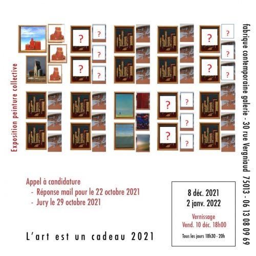L'art est un cadeaux Carton 202112 V1